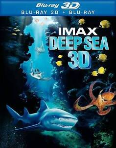 Deep Sea (IMAX) (Blu-ray Disc, 2010, 3D/...