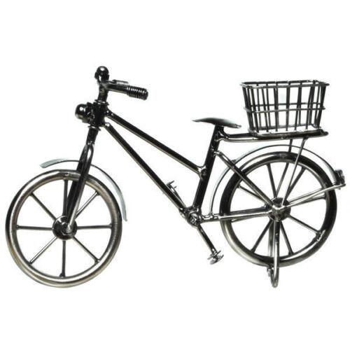 deko bike rennrad fahrrad mit korb aus metall verschiedene motive zur auswahl ebay. Black Bedroom Furniture Sets. Home Design Ideas
