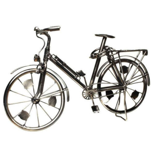 deko bike rennrad fahrrad mit korb aus metall verschiedene. Black Bedroom Furniture Sets. Home Design Ideas