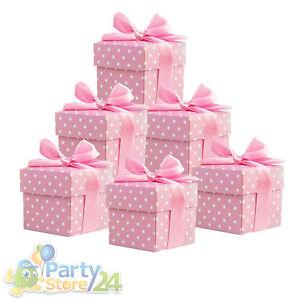 deko box 10 20 50 st babyparty hochzeit dekoration basteln party gastgeschenk ebay. Black Bedroom Furniture Sets. Home Design Ideas