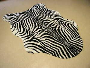 deko zebra teppich 220 x 150 inkl rutschmatte afrika. Black Bedroom Furniture Sets. Home Design Ideas