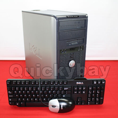 Dell Optiplex Gx620 Tower Desktop 4GB RAM 500GB HDD Intel Pentium Windows 7 in Computers/Tablets & Networking, Desktops & All-In-Ones, PC Desktops & All-In-Ones | eBay