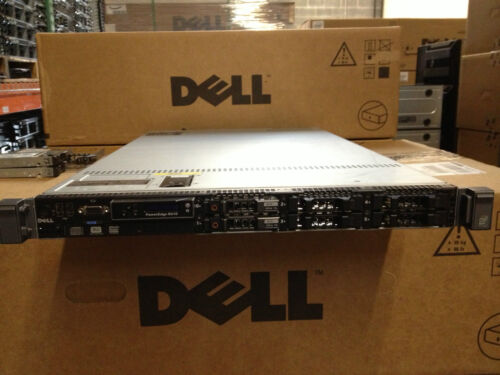 Dell PowerEdge R610 Server, 2x 2.80GHz Quad-Core, 48GB, 2x 300GB 10K SAS in Computers/Tablets & Networking, Enterprise Networking, Servers, Servers, Clients & Terminals   eBay