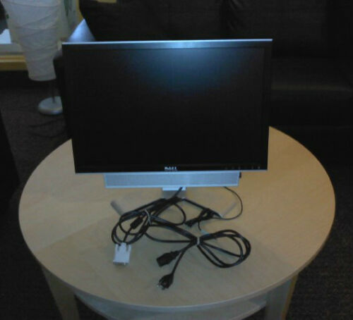 Dell Widescreen Flat Panel LCD Monitor w/ Attached Speaker and Adjustable Stand in Computers/Tablets & Networking, Monitors, Projectors & Accs, Monitors | eBay