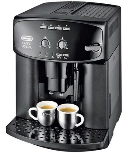 delonghi caffe venezia kaffeevollautomat espresso cappuccino esam 2000 schwarz ebay. Black Bedroom Furniture Sets. Home Design Ideas