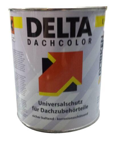 delta dachcolor dachfarbe anthrazit dose a 750 gr ebay. Black Bedroom Furniture Sets. Home Design Ideas