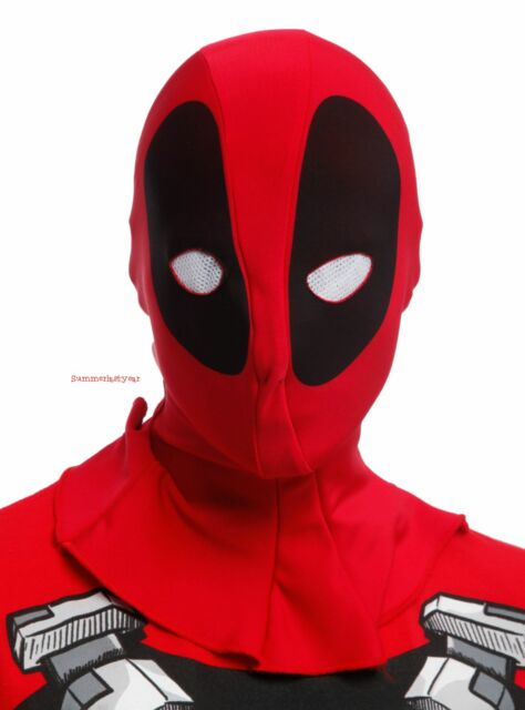 Deadpool Adult Mens Muscle Shirt /& Mask Red Rubies