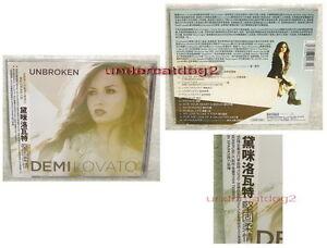 Demi Lovato on Demi Lovato Unbroken 2011 Taiwan Cd W Obi   Ebay