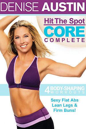 Denise Austin   Hit the Spot Core Complete DVD, 2006