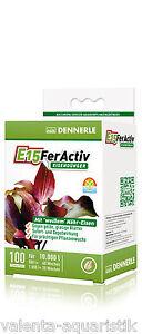 Dennerle-E-15-FerActiv-Eisenduenger-Dennerle-E15-100-Tabletten-Wasserpflanzendueng