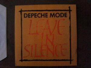Depeche-Mode-Leave-in-Silence-Mint-Top-Zustand-1982-Mute-Records-Raritaet-rar