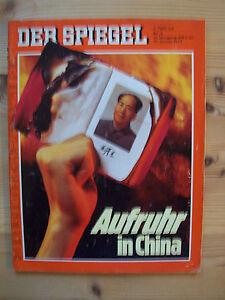 Der Spiegel Nr. 3/1977 10. Januar 1977 Aufruhr in China - <span itemprop=availableAtOrFrom>Damme, Deutschland</span> - Der Spiegel Nr. 3/1977 10. Januar 1977 Aufruhr in China - Damme, Deutschland