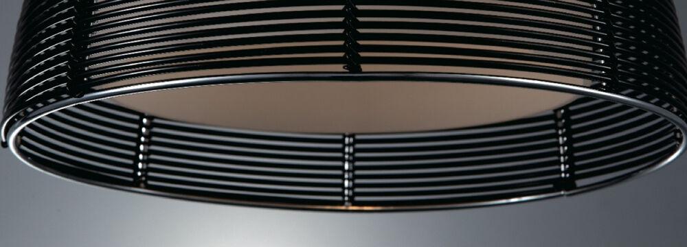 design pendelleuchte opalglas silber schwarz braun pendellampe h ngelampe lampe. Black Bedroom Furniture Sets. Home Design Ideas