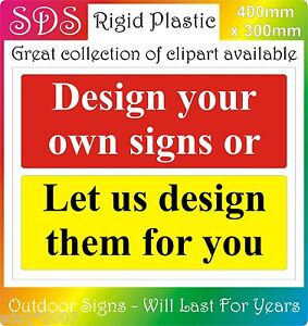 Design Your Own Sign Your Wording Colours Photos Logos