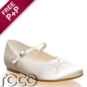 Girls Ivory Bridesmaid Shoes Flower Girl Shoes Bridesmaid Shoes Kids Shoes