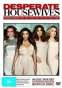 Desperate Housewives Seasons 1-8