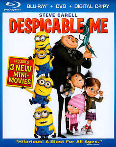 Despicable Me (Blu-ray/DVD, 2010, 3-Disc...