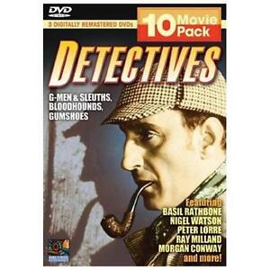 Detectives - 10 Movie Pack (DVD, 2005, 3...