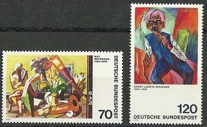 Deutsche Bundespost 1974: Deutscher Expressionismus - Deutschland - Deutsche Bundespost 1974: Deutscher Expressionismus - Deutschland