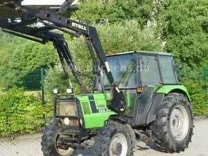Deutz-DX-3-10-Allrad-Stoll-Frontlader-Schlepper-Traktor-Deutz-Diesel-30km-h