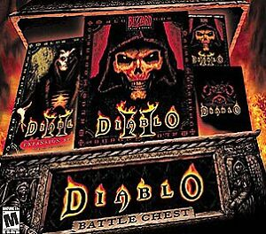 Diablo Battle Chest  (PC, 2001)