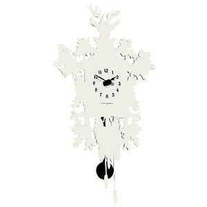 Diamantini Domeniconi Tiny Modern Cuckoo Clock Wall
