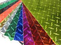 """Diamond Plate Wall Border Vinyl, Choose Your Size and Color, 6"""" and 8"""" wide roll in Crafts, Other Crafts 