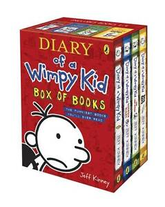 Diary of a Wimpy Kid - Box of Books by J...
