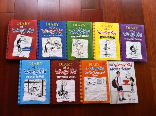 Diary of a Wimpy Kid Full Book Set in Books, Children & Young Adults | eBay