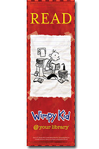 Diary of a Wimpy Kid bookmark NEW Red Party Favor in Books, Accessories, Bookmarks | eBay