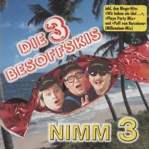 Die-3-Besoffskis-Nimm-3-CD-13-Track-2000-DA-Records