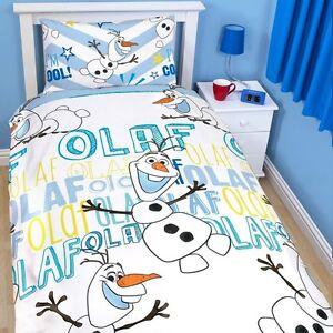 die eisk nigin olaf kinder bettw sche bettbezug 135x200. Black Bedroom Furniture Sets. Home Design Ideas