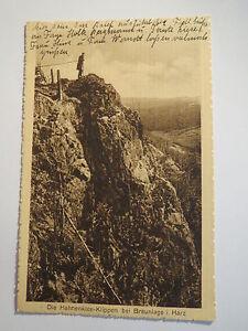 Die-Hahnenklee-Klippen-bei-Braunlage-i-Harz-1934-AK