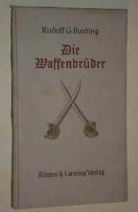 Die-Waffenbrueder-von-Rudolf-G-Binding-1941