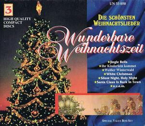 Die-schoensten-Weihnachtslieder-Wunderbare-Weihnachtszeit-3-CD-Box-Set
