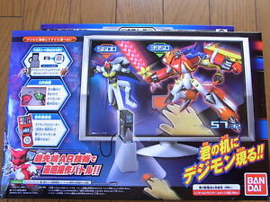 Digimon-Xros-Arena-WARS-Loader-TV-Game-Battle-BANDAI-NEW-digivice-Virtual-RARE