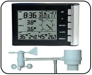 Digitale-Funk-Wetterstation-CTW-600-Thermo-Feuchte-Wind-Regen-Messung