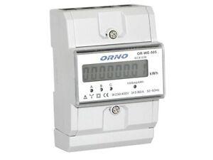 Digitaler-Drehstromzaehler-Stromzaehler-LCD-3x80A-fuer-DIN-Hutschiene-OR-WE-505
