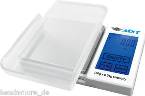 Digitalwaage-MyWeigh-MXT-100-x-0-01-g-pocket-scale-100g-My-Weigh