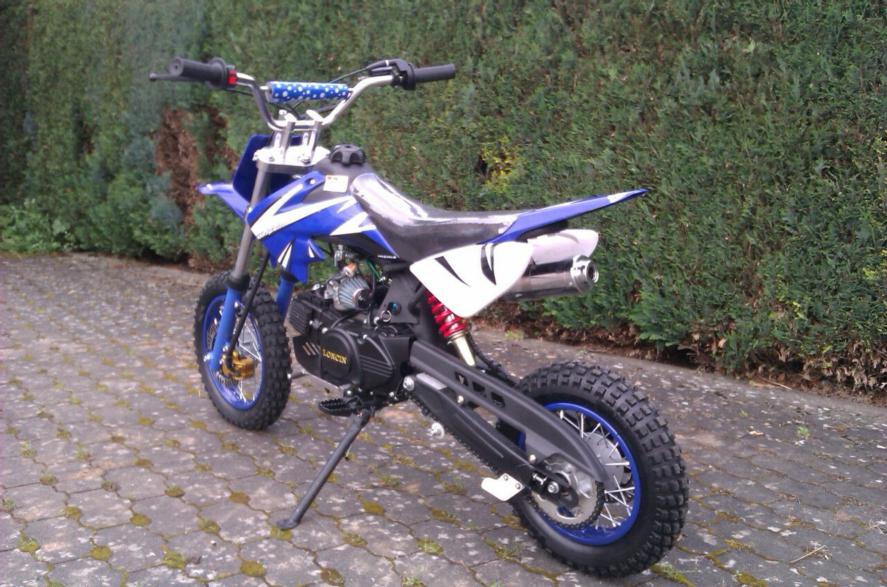 dirt bike 125 ccm 12 10 r der cross vollcross pocketbike. Black Bedroom Furniture Sets. Home Design Ideas