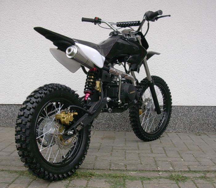 dirt bike 125 ccm 14 12 r der cross vollcross pocketbike. Black Bedroom Furniture Sets. Home Design Ideas