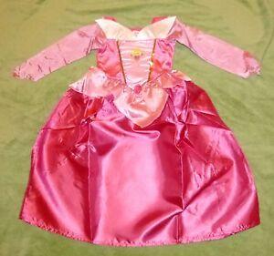 disney dornr schen kost m prinzessin pink rosa kleid gr. Black Bedroom Furniture Sets. Home Design Ideas
