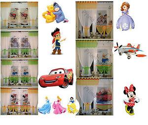 disney gardine kindergardine kinderzimmer baby gardine vorh nge ebay. Black Bedroom Furniture Sets. Home Design Ideas