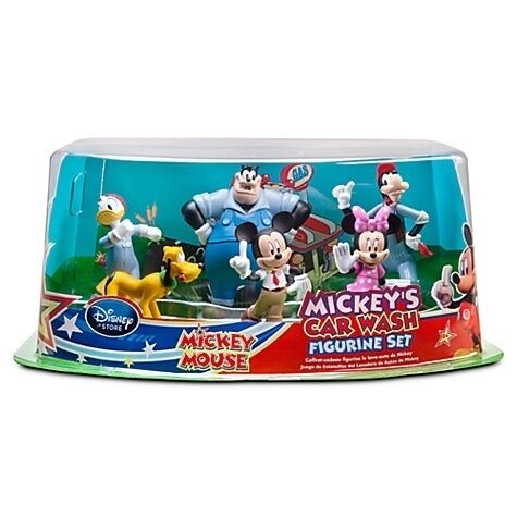 Disney Mickey Mouse Clubhouse MICKEYS CAR WASH Figurine Figure Play