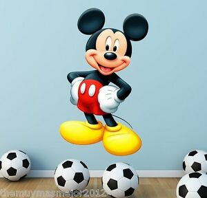 disney mickey mouse clubhouse wall sticker room girl boy. Black Bedroom Furniture Sets. Home Design Ideas