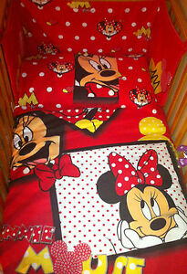 disney minnie mouse red bedding set all sizes available