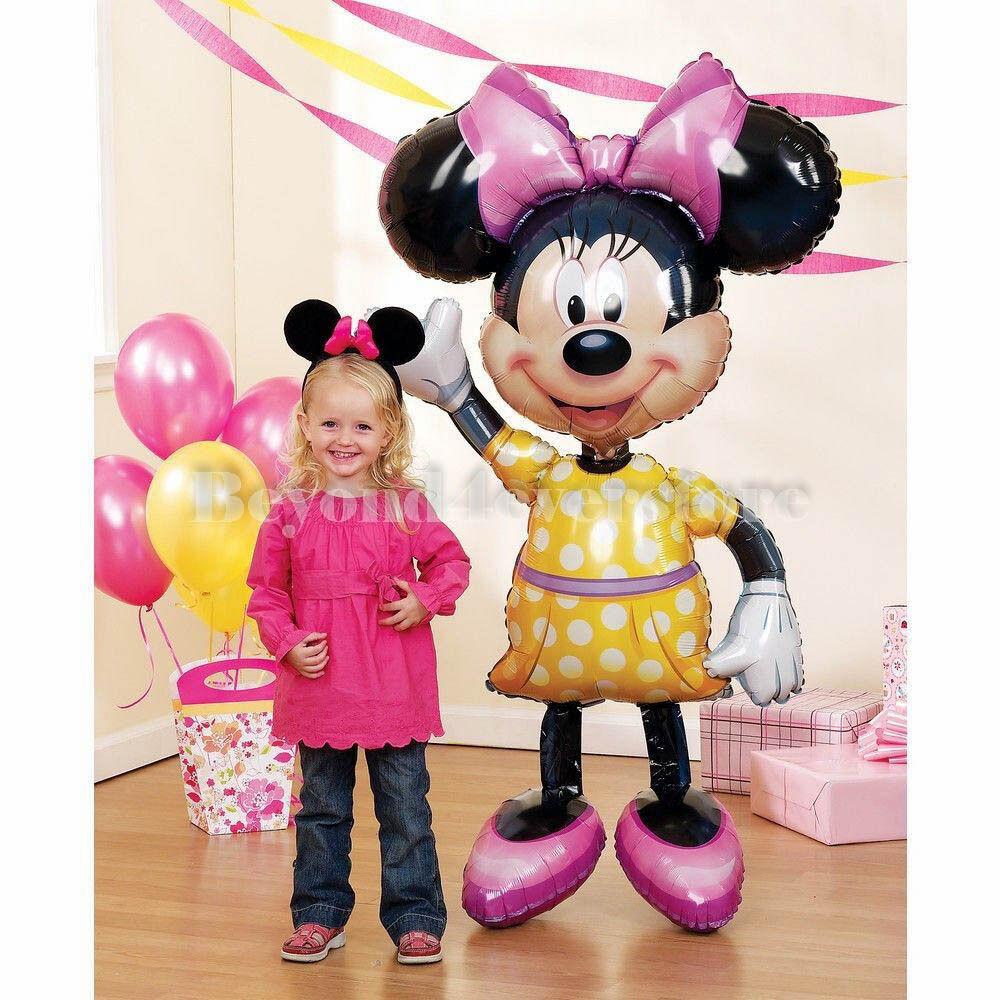 """Minnie Mouse Airwalker 54/"""" Tall Foil Balloon"""