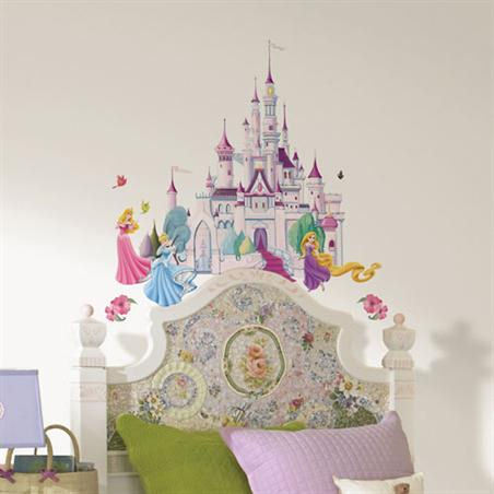 Disney tangled rapunzel giant wall decals princess for Disney princess wall mural stickers