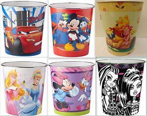 Disney-Papierkorb-Abfalleimer-Kindermuelleimer-Papiermuelleimer-Eimer-Papiereimer