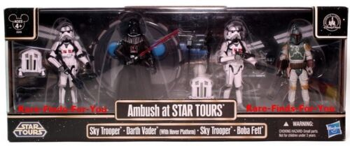 Disney Parks Star Wars Tours 2011 Ambush Figures Set Darth Vader Boba Fett (NEW) in Toys & Hobbies, Action Figures, TV, Movie & Video Games | eBay